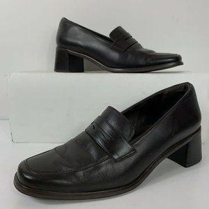 Rockport DMX Comfort Loafers Shoes Wms Sz 9M Black